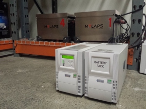 MYLAPS Powered By Battery Backup Power 2