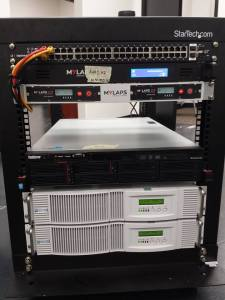 MYLAPS Rack Mount Power Conditioner and Battery Backup Power 2