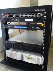 MYLAPS Rack Mount Power Conditioner and Battery Backup Power 7
