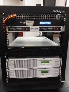 MYLAPS Rack Mount Power Conditioner and Battery Backup Power