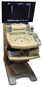 Hitachi HI Vision 6500 Ultrasound Protected By Battery Backup Power Inc