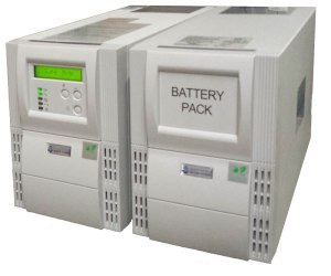 Battery Backup Power UPS with battery cabinet